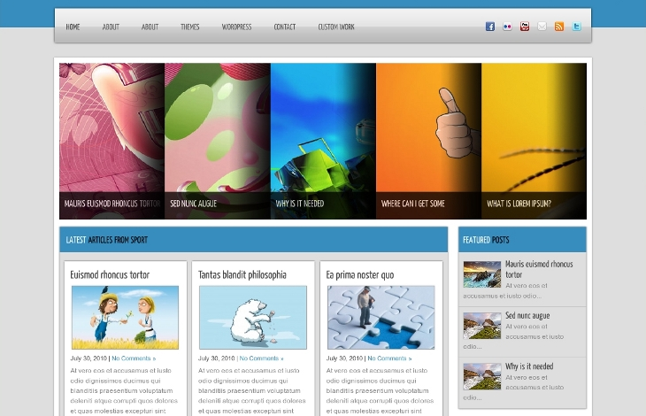 design10 wordpress proposé par Inf Auvergne