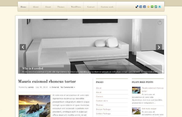 design5 wordpress proposé par Inf Auvergne